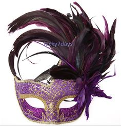 masquerade ball masks Halloween mask girl costumes by Lucky7days