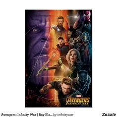 Infinity War Movie New Film LW-Canvas Poster P-08 2018 Spider-Man Avengers