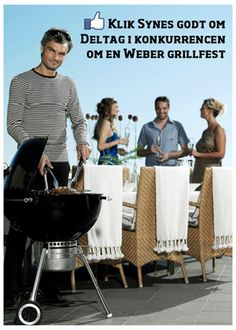 Campaign using Newsperience Facebook Photo App / fotokonkurrence  Bilka - weber grill sommerkonkurrence