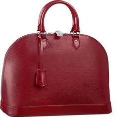 Louis Vuitton Alma MM Epi Leather M4032M