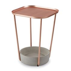 Umbra Tavalo Side Table, Copper…