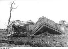 Hitler's Bunker as seen in 1947.