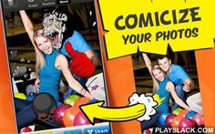 Photo Comics  Android App - playslack.com ,  Illustrate your photos with comic book elements for free!Creating comics is simple! It's as easy as taking photos with your camera and adding awesome comic pictures. There are tons of comic graphics available in Photo Comics.Photo Comics will help you make amazing changes to photos to create outstanding and cool works of art. The graphics pack consists of comic book sounds, stickers, cartoon characters, and comics-styled pictures.Get artistic…