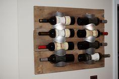 Range bouteille vintage DIY