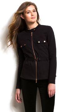Armani Exchange Belted Scuba Jacket