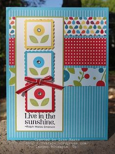 Fun card with color