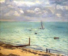 ALBERT MARQUET (1875-1947)La plage du Pyla