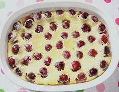 IZA'S CAKES: Cherry clafoutis