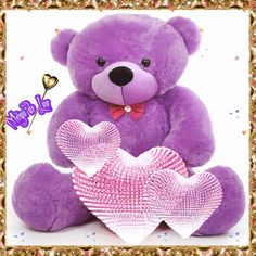 I Love You Pictures, Teddy Bear Pictures, Beautiful Love Pictures, Love You Images, Beautiful Gif, Cute Teddy Bear Pics, Teddy Bear Cartoon, Cute Bears, Flowery Wallpaper