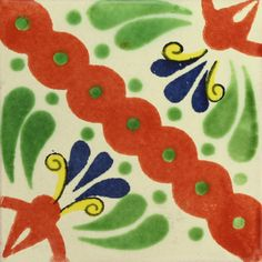 Traditional Mexican Tile - Martha - Mexican Tile Designs