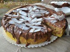 Torta marmorizzata al cocco