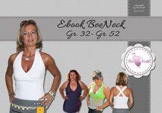 Nähanleitungen und Schnittmuster für Damen : Ebook BeeNeck Gr. 32-52