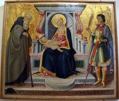 San Antonio Abad, Madonna, Italian Art, Wikimedia Commons, Painting, Medieval, Search, Renaissance, Museum