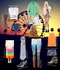 Coachella inspired looks of life* #coachella #streetstyle #motherdenim #christopherkane #humanity #isabelmarant #oneteaspoon