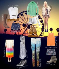 Coachella inspired looks of life*
