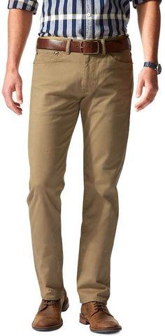 Dockers Men's Jean Cut D2 Straight-Fit Stretch Twill Pants