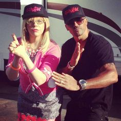 everybody should search for / have a relationship like Garcia and Morgan / Kirsten and Shemar in his or her life <3