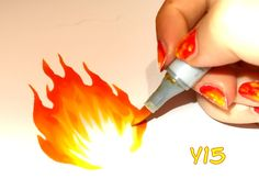 Copic Italy: Tutorial: FIRE (Part 1)