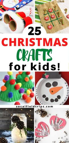 You can't help but get into the holiday spirit when you make one of these fantastic 25 Classic Christmas Crafts For Kids! From making Frosty The Snowman ornaments out popsicle sticks to creating salt dough handprint ornaments to playing a game of Christmas tic tac toe, there's bound to be at least one craft for every member of your family. #christmas #chirstmascraft #kidscraft #theholidays #preschool #daycare #preschoolcraft #adultcraft #funcraft #diy #craft Santa Crafts, Reindeer Craft, Christmas Crafts For Kids, Christmas Decorations To Make, Simple Christmas, Christmas Ideas, Craft Activities, Preschool Crafts, Fun Crafts