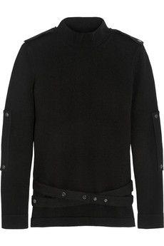 Tom Ford Belted cashmere turtleneck sweater   NET-A-PORTER