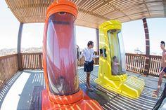 A cápsula do Arrepius te leva para um novo lugar: um mundo de diversão!  #BeachPark #Arrepius #Ceará #Brasil