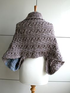 Crochet Pattern INSTANT DOWNLOAD crochet wrap pattern