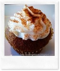 pumpkin spice cupcake with mascarpone bourbon frosting more pumpkin ...