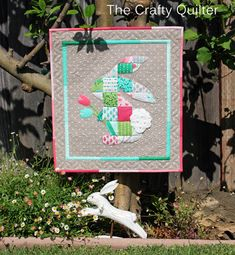 The Crafty Quilter | Patchwork Peter Rabbit Tutorial | http://thecraftyquilter.com