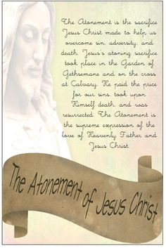 Didi @ Relief Society: YW March - The Atonement of Jesus Christ, handout