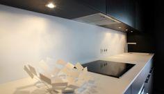 Maison de Ville - Cuisine aménagée noir - decodheure architecte
