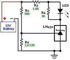 TL431A-LED-Battery-OK-status-indicator