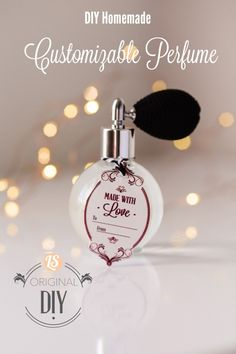 DIY Homemade Perfume (a simple homemade gift). This is so easy to make and actually good for you! I love making homemade perfume for Christmas gifts. The ladies love this personal homemade gift.