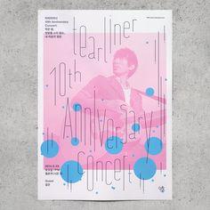 poster for the concert - Tearliner 10th Anniversary - Jaemin Lee