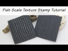 (283) Polymer Clay Tips & Tricks: Fish Scale Texture Stamp Tutorial - YouTube Polymer Clay Canes, Fish Scales, Tips & Tricks, Faux Stone, Toot, Clay Tutorials, Fancy, Texture, Youtube