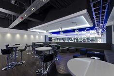 The Fun Company bowling alley & bar by Black Sheep Design, Johannesburg South Africa lounge bar