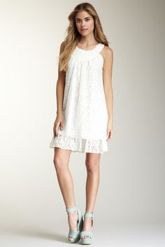 Papillon Lace 2 Layer Dress by Spring Dresses on @HauteLook