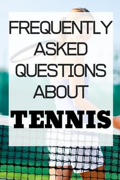 If you are a beginner tennis player you will want to check this tennis guide out. Learn all about tennis scoring, tennis equipment, tennis etiquette, and much more. Learning to play tennis is something that anyone can learn to do no matter your age. Tennis Rules, Tennis Gear, Tennis Tips, Sport Tennis, Sharapova Tennis, Maria Sharapova, How To Play Tennis, Tennis Lessons, Tennis Equipment