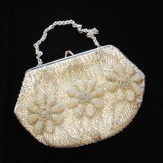 Vintage Beaded Evening Bags   original_vintage-gold-and-cream-beaded-evening-bag.jpg