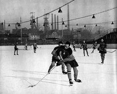 Lodowisko (Torkat), Katowice - 1962 rok, stare zdjęcia