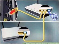 Image titled Connect One Router to Another to Expand a Network Step 7