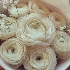 Beautiful handmade flowers ~❥