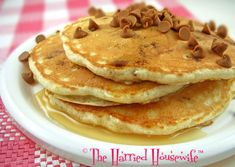 Homemade pancakes are a delightful way to start the day, but if you like the taste of cinnamon, they can be even better. By simply stirring cinnamon chips into the batter, it's easy to add spicy fl…