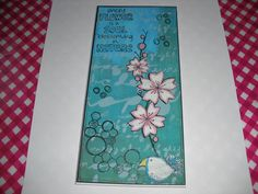Paper Artsy Acrylic Paint used for background. JOFY stamps used. Crafters Workshop stencil used over paint.