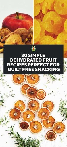 20 Simple Dehydrated Fruit Recipes Perfect for Guilt-Free Snacking - Food Recipes - Obst Fruit Drinks, Fruit Snacks, Fruit Recipes, Easy Healthy Recipes, Gourmet Recipes, Healthy Snacks, Snack Recipes, Cooking Recipes, Dehydrated Food Recipes