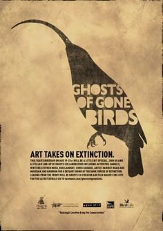 Ghosts of gone Birds