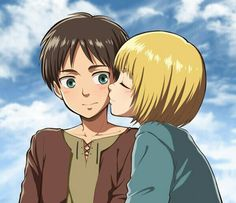 I often wonder what Mikasa would do in a situation if she found them like this. Not that she probably already hasn't. Eremin.