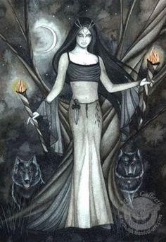 Love of the Goddess: Hekate, Dark Goddess of the Crossroads