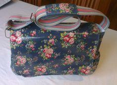 Cath Kidston Nappy Diaper Baby BAG Genuine From London Briar Rose Pattern   eBay