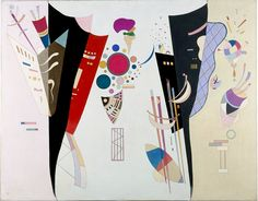 Accord réciproque, 1942. Wassily Kandinsky.  Huile et Ripolin sur toile