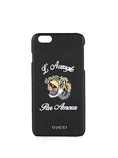 Gucci L'Aveugle Par Amour iPhone 6 Plus Case - Black-
